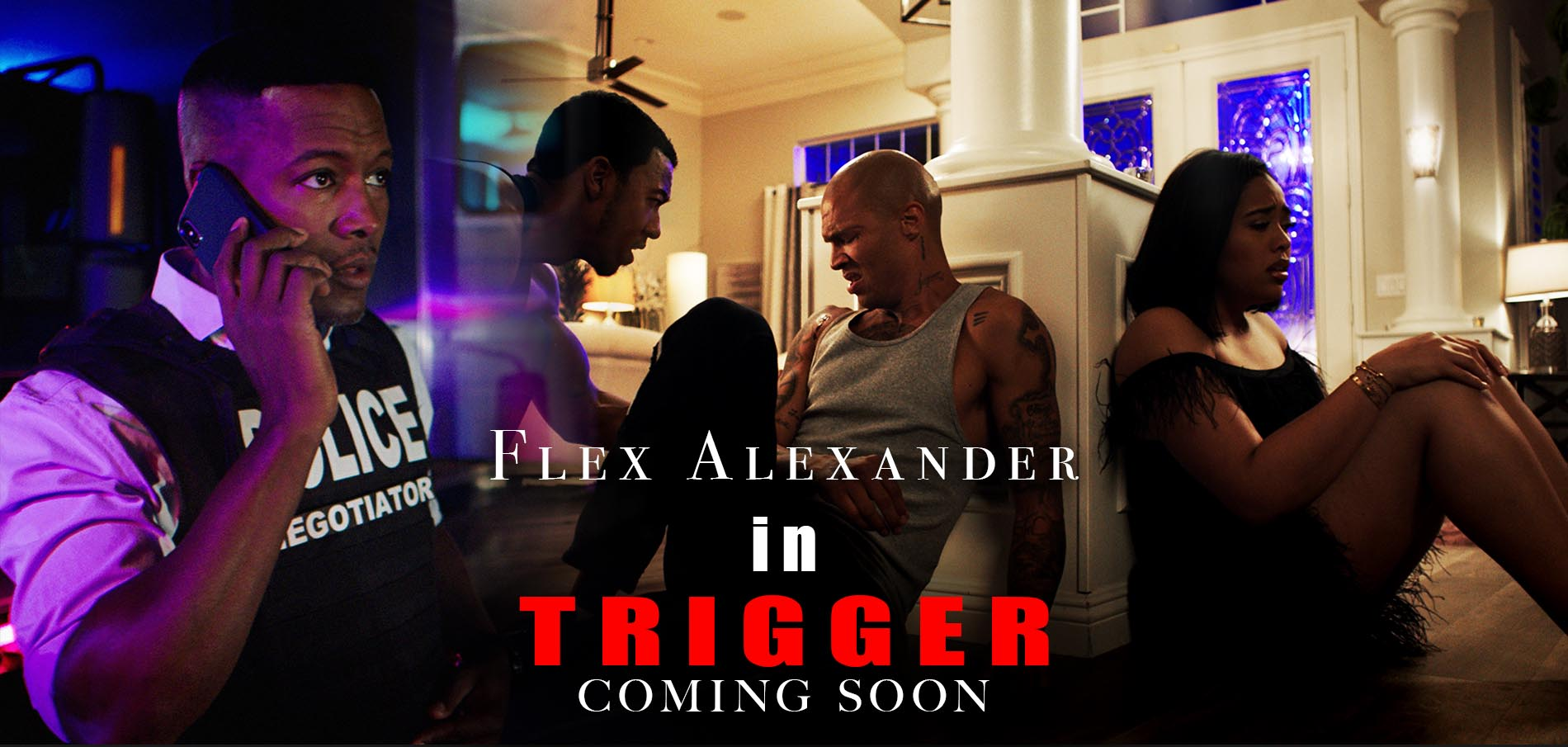 flex Alexander trigger footage films chris stokes