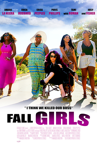 fall girls movie poster